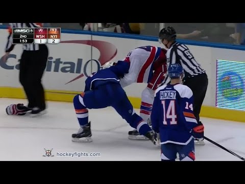 Anders Lee vs. Tom Wilson