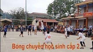 Bóng chuyền học sinh THCS Thạch Thành 2019    Thạch Bình  & Thành Minh