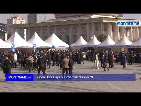 Open Door Days of Government kicks off