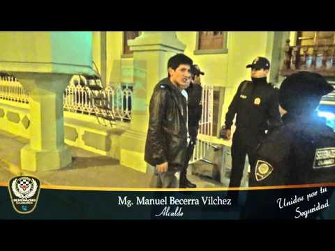 SERENAZGO CAJAMARCA - Cámaras de video vigilancia captan agresiones físicas