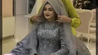 Hijab Tutorial, Wedding Hijab Style #hijab #hijabtutorial