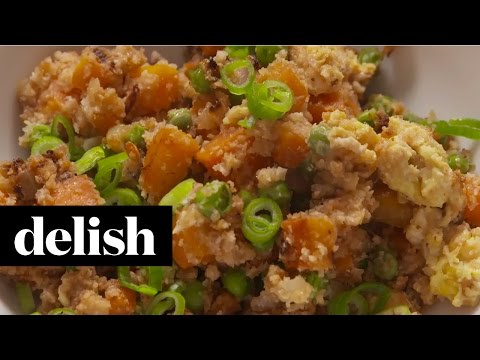 Video How To Make Cauliflower Fried Rice | Delish