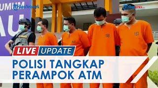 Tipu Teknisi dan Gondol Uang Rp755 Juta, Perampok ATM di Rokan Hulu Akhirnya Diringkus Polisi