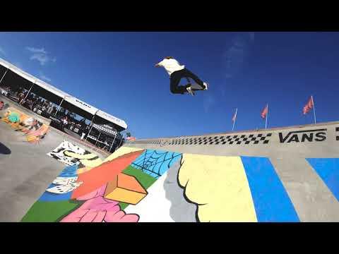 GoPro Course Preview: Curren Caples - Huntington Beach | Vans Park Series
