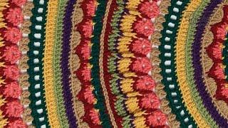 Crochet Mandala Stitch Along:  Rnds 26 - 40