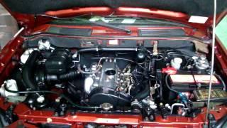 Diesel Engine Start Up (Mitsubishi 2.5D Engine)