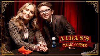 Aidans Magic Corner: Emily Blunts Mind Blown By Kid Magician Aidan McCann