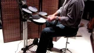 Duran Duran - First Impression [drum cover] Roland HD-3 V-Drums