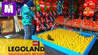 Германия #1 Леголенд парк аттракционов Макс выиграл игрушки в воде