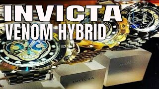 Invicta Watches : Invicta Venom Hybrid Watch Review