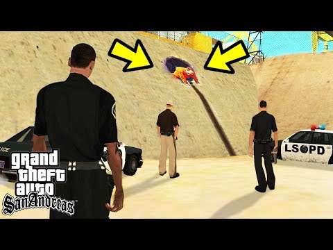Играем за Полицейского в GTA San Andreas!