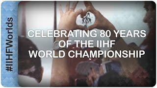 Celebrating 80 years of the IIHF World Championship   #IIHFWorlds 2016
