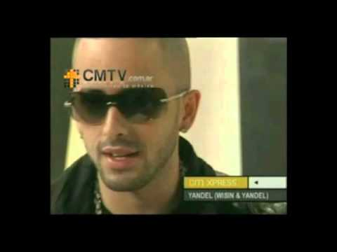 Wisin y Yandel video Entrevista - Estudio CM 2008