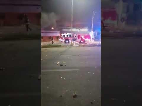 Incendio  Lider en Arica 2019