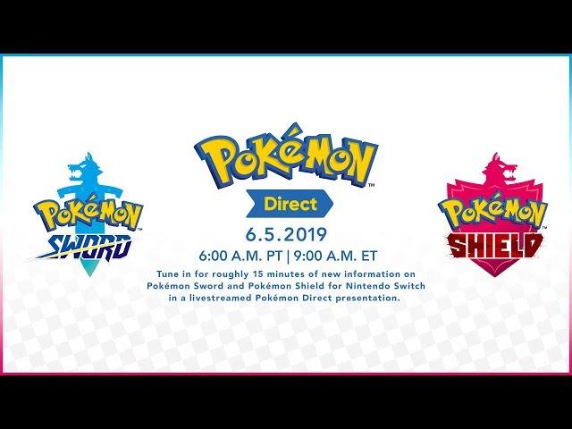 Nintendo Direct for Pokémon Sword/ Shield: Watch it right here