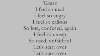 Gambar cover Box Car Racer -I Feel So[Lyrics]