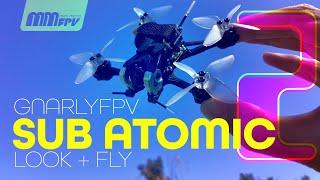 "GnarlyFPV Sub Atomic 2: Look & Fly 2"" Micro Freestyle / XING 1202 / JHEMCU AIO / Runcam Nano"