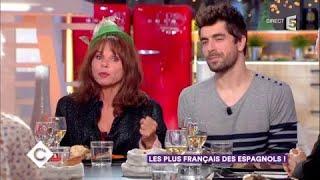 Victoria Abril et Agustín Galiana, les plus Français des Espagnols - C à Vous - 18/01/2018