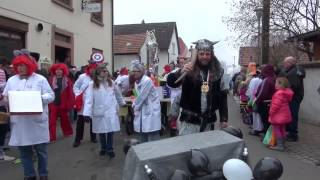 preview picture of video 'Fasnachtsumzug Hagenbach Kreis Germersheim Germany 17.2.2015 T 17'
