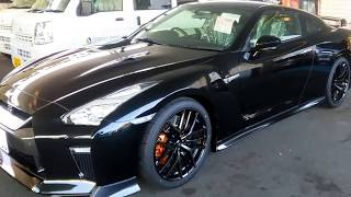 日産GTR 黒 新車 Nissan GTR BLACK