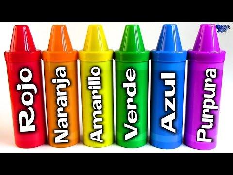 Aprende los colores con el lápiz sorpresas|Educación Lápices Ordenar sorpresas|Sorpresas lápiz
