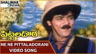 Pittala Dora Movie || Ne Ne Pittaladorani Video Song || Ali, Indraja || Shalimarcinema