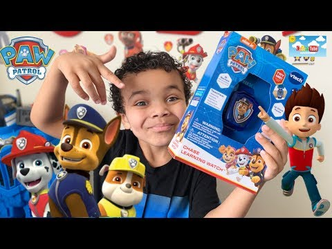 PAW Patrol Chase Learning Watch by Vtech Kids fun Unboxing!