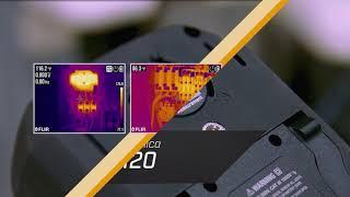 Multimetro industriale con immagine termica e IGMTM FLIR DM285