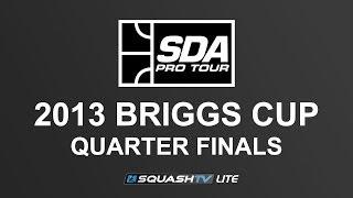 SQUASH (Hardball Doubles) : SDA 2013 Briggs Cup - QUARTER FINALS