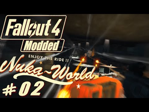 Fallout 4 Nuka World - Wildman Rags - New Unique Outfit