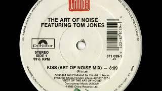 The Art Of Noise Featuring Tom Jones  BATTERY MIX - Kiss (Vinyl Rip)