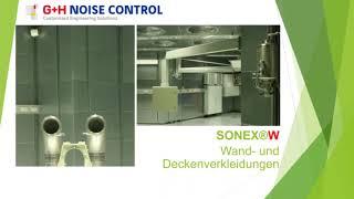 SONEX®W - akustisch hoch absorbierende Wand- und Deckenelemente