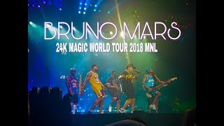 My VIP Experience   Bruno Mars 24k Magic World Tour 2018 Manila (FULL CONCERT) | Random Vlogs