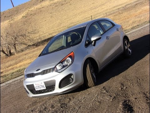2012 KIA Rio Test Drive Review