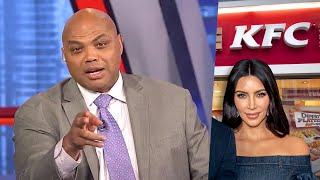 Charles Barkley says he rather have KFC chicken over Kim Kardashian and Halle Berry any day