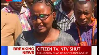 Nyeri residents give their views concerning the NASA swearing in