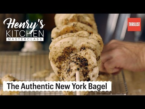 Making An Authentic New York Bagel || Henry's Kitchen