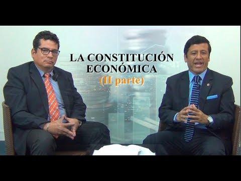 LA CONSTITUCIÓN ECONÓMICA PARTE II - Tribuna Constitucional 120 Guido Aguila
