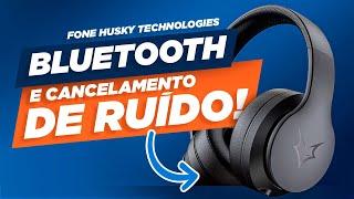 Fone de Ouvido SEM FIO! Nova linha Husky Technologies