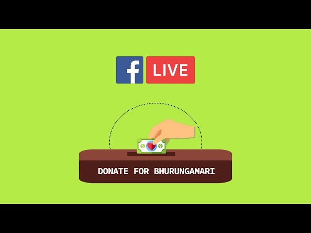 LiveTalk with The CEO of Donate for Bhurungamari