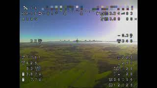20km Longrange Flight with 245g Flying Wing