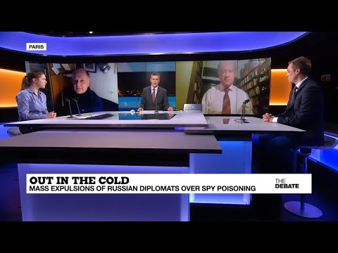 Out in the cold: Mass expulsions of Russian diplomats over spy poisoning case