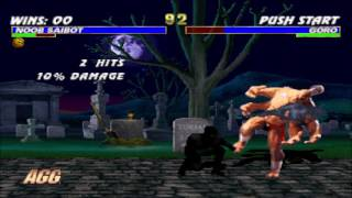 Noob Saibot vs Goro Double Flawless HD