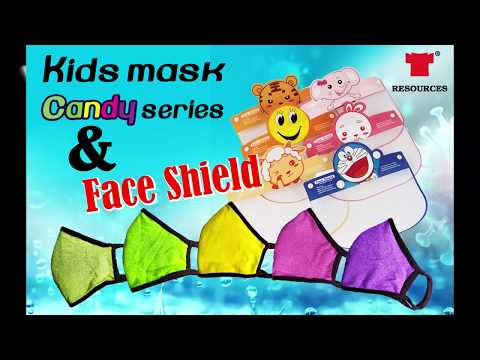 kids mask & face shield (chinese version)
