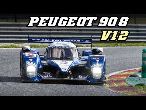 2010 Peugeot 908 HDI-FAP V12 - racing at Spa 2018
