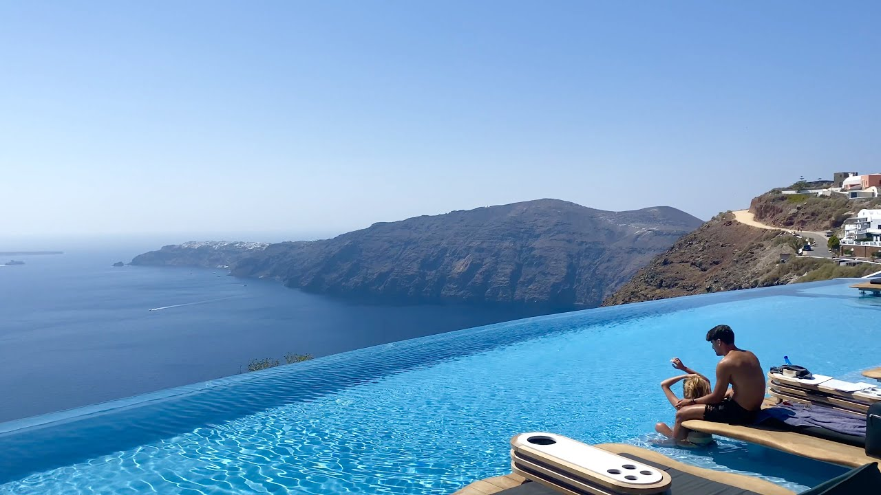 CAVO TAGOO SANTORINI Sensational boutique hotel with incredible views (full tour in 4K)