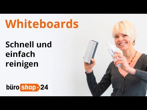 Whiteboards: Wie Sie Weißwandtafeln richtig reinigen!