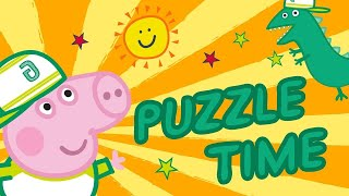 Peppa Pig| Puzzle for Kids | Memory Training for Kids | Learn With Peppa Pig