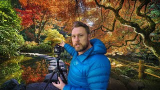Fall Photography At The Butchart Gardens