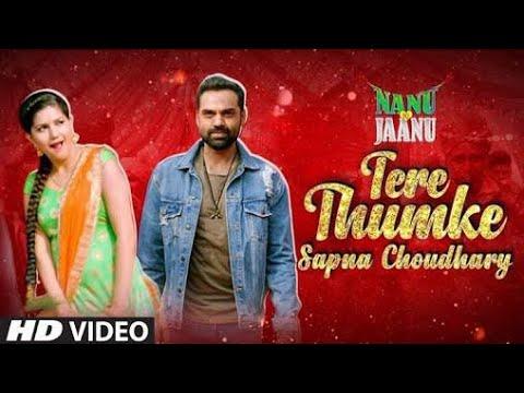 Tera Thumka (Official Video 2018)_Sapna Choudry _Nanu Ki Janu